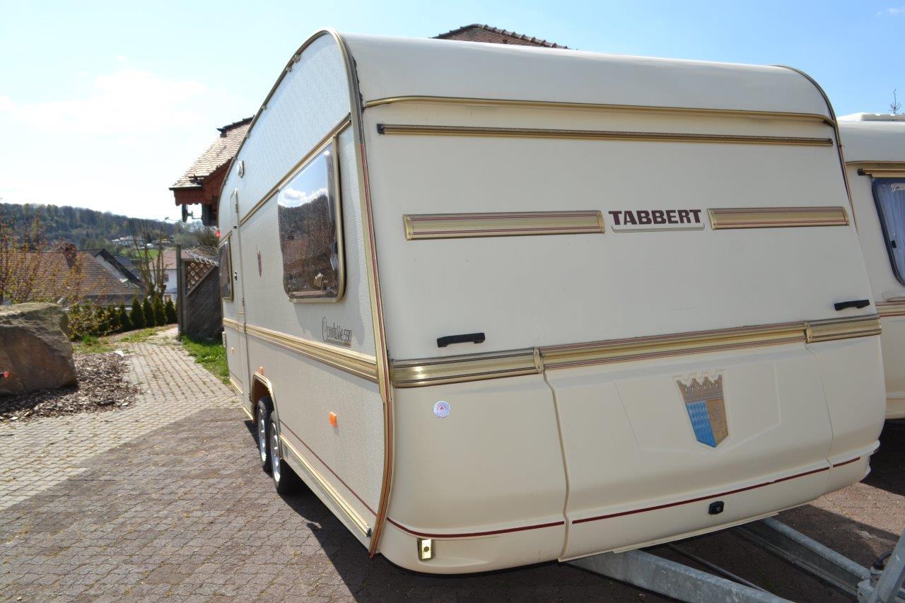 Fantastic Tabbert Comtesse Deluxe Special Caravan 24ft 5 Berth 2003 Fixed End